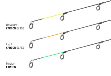 CARBON GLASS spicc a LEGIA feeder II-hez /MEDIUM 120g