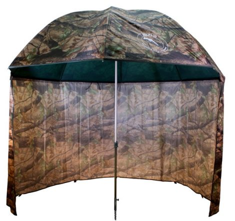 Terepszínú sátras PVC horgászernyő /250cm/camou