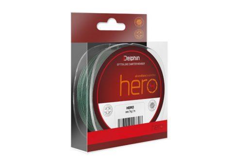 Delphin HERO zöld 1000m /0,25mm 37lbs
