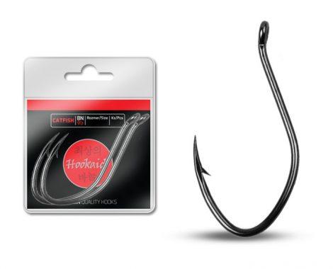 Delphin horog HKD CATFISH ring / 6db