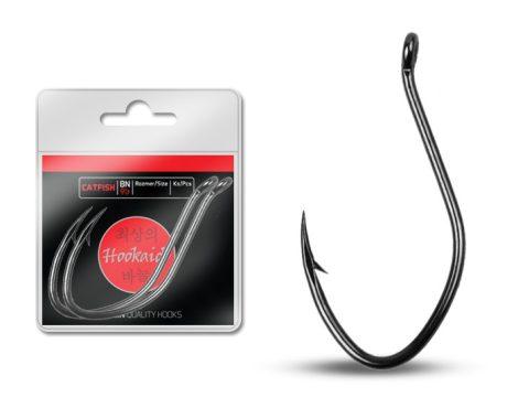 Delphin horog HKD CATFISH ring / 2db