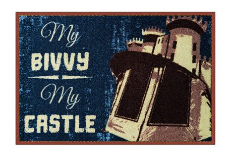 Delphin szőnyeg My bivvy my castle