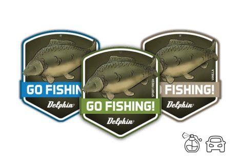 Autó illatosító GO FISHING! Carp /Vanilla