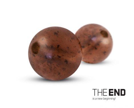 THE END Gumiütköző golyó / 60db /6mm