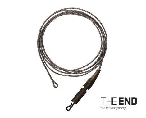 Delphin tHE END Leadcore + PIN clip kötött horog / 3db