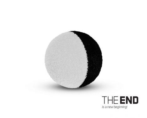 THE END ZIG RIG fekete-fehér 15mm / 10db